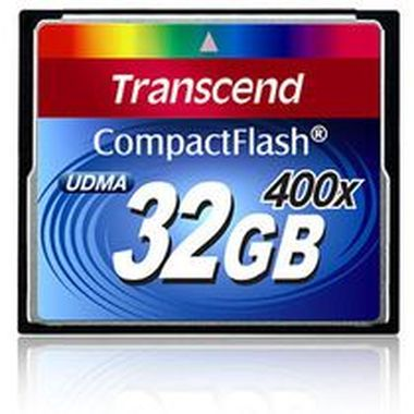 Transcend Compact Flash karta 400x 32GB