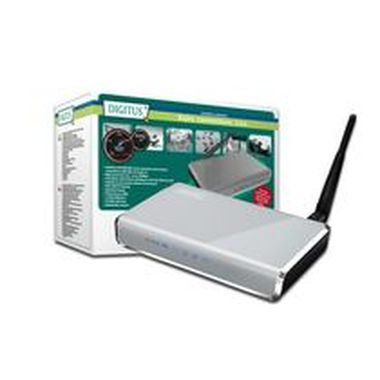 DIGITUS Wireless 150N Broadband AP Router, 150Mbps