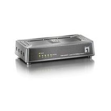 LevelOne Mini Switch 5 Port 10/100Mbps ultra compact