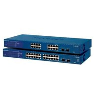 Netgear 16xGbE, 2xSFP shared, SMART SWITCH, static routing, IPv6, LAGs