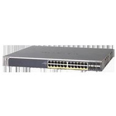 NETGEAR 24x 10/100/1000 Layer 2 Managed Stackable Switch with 24 PoE Ports