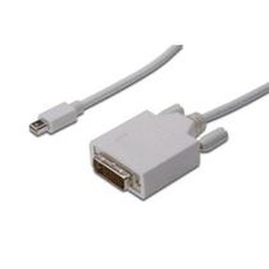 DIGITUS DisplayPort Kabel, mini DP/M - DVI(24+1)/M 2.0m