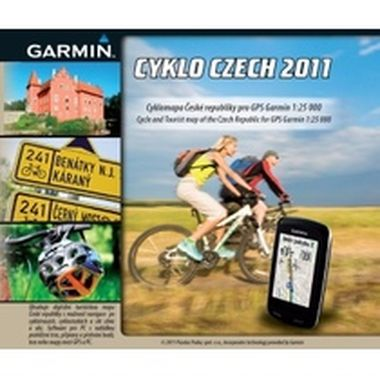 CYKLO Czech 2011 upgrade - na CD