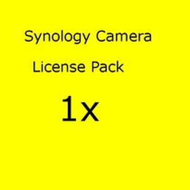 Synology Camera License Pack x 1