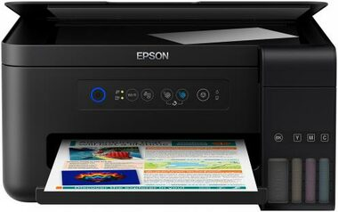 EPSON L4150 / 3in1 / CIS / A4 / 33ppm black / 4ink / USB / Wi-Fi / EPSON connect / Tank system
