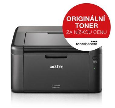 Brother HL-1222WE / čb laser / 20str./ 2400 x 600 dpi / A4 / USB / Wi-Fi