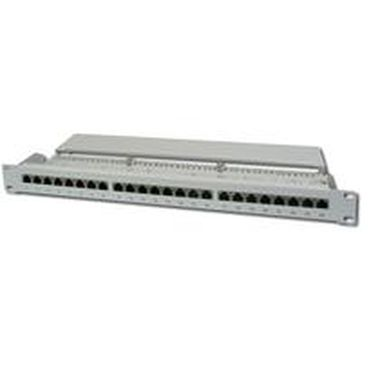 "DIGITUS Patch panel, Cat6 19"" 24xSTP RJ45"