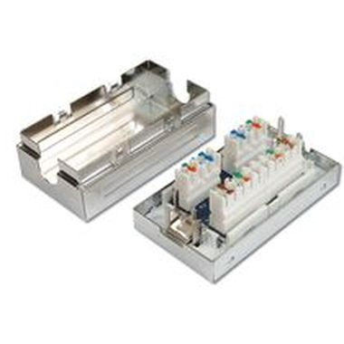 PremiumCord Junction Box, CAT6, Full Shielded,LSA