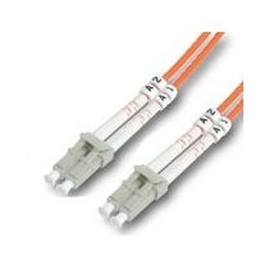 DIGITUS Fiber Optic Patch Cord, LC to LC Singlemode 09/125 µ, Duplex Length 2m