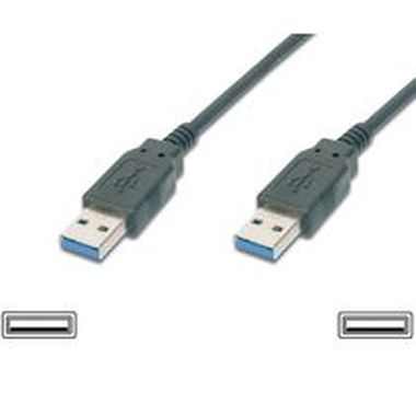 PremiumCord USB 3.0 kabel A<->A propojovací 2m / Super-speed 5Gbps