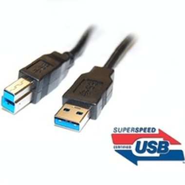 PremiumCord USB 3.0 kabel A<->B propojovací 1m / Super-speed 5Gbps