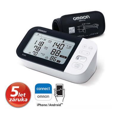 Tonometr OMRON M7 Intelli IT s AFib (5let záruka)