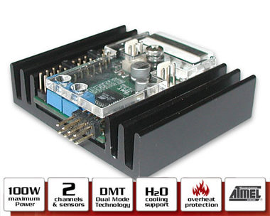 mCubed T-Balancer miniNG / 2 channel fan controller with 2 sensors / výprodej
