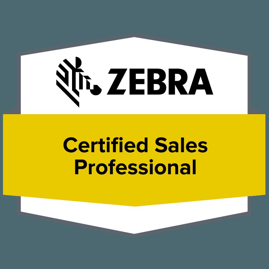 Alexandr Kalenskyj - Certifikovaný prdejce ZEBRA | Certified Sales Profesional of Authorization